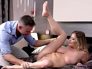 Laid Back Son Seduced And Fucked By Stepmom