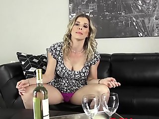 HORNY MILF Cory Chase sucking her stepson fat dong