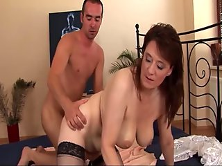 Stepmom Gets Satisfied With Stepson's Cock