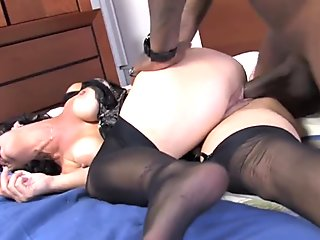 Mature Melissa Monet Has Interracial Sex For The First Time
